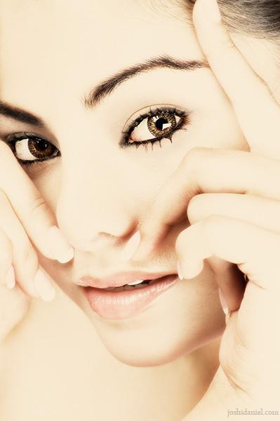 Beauty portrait of female model Konkana Bakshi