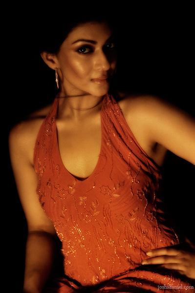 Fashion portrait of female model Deepthi Varghese
