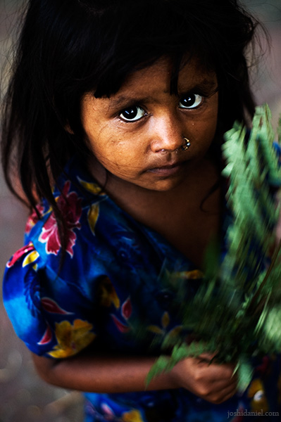 Portrait of a cute girl from Parel, Mumbai