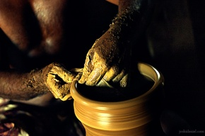 Pottery making from Tamil Nadu