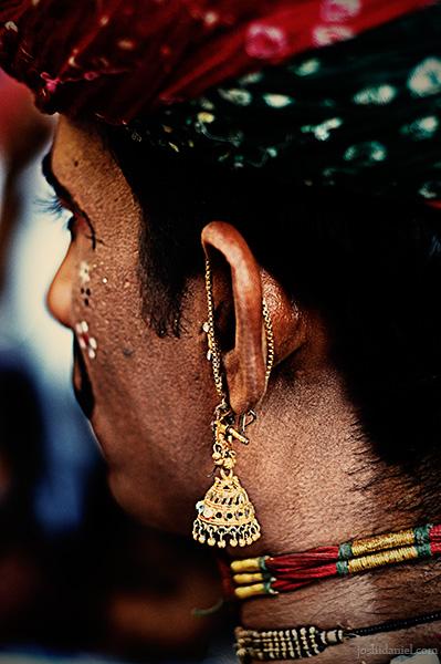 Rajasthani folk dancer from Kala Ghoda arts festival