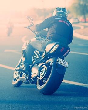 Ducati Diavel from Dubai