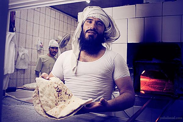 A roti maker from Dubai, United Arab Emirates