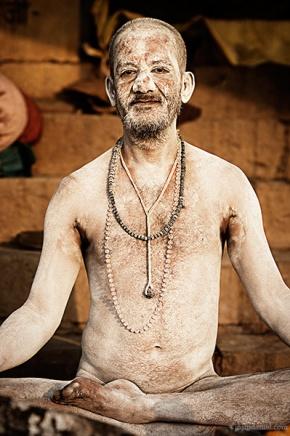 Portrait of a Sadhu from Varanasi