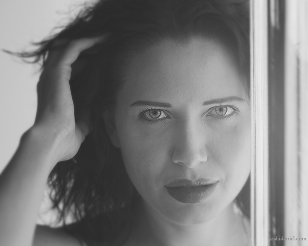 Black and white portrait of Alexandra Pisetskaya