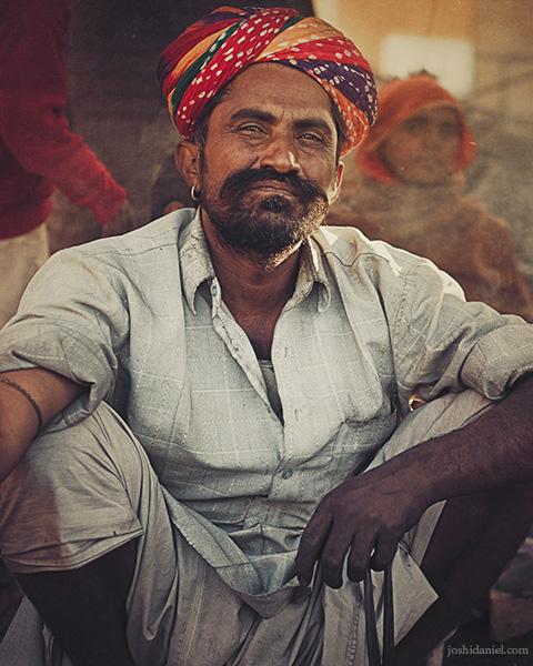 A Rajasthani blacksmith in Jaisalmer