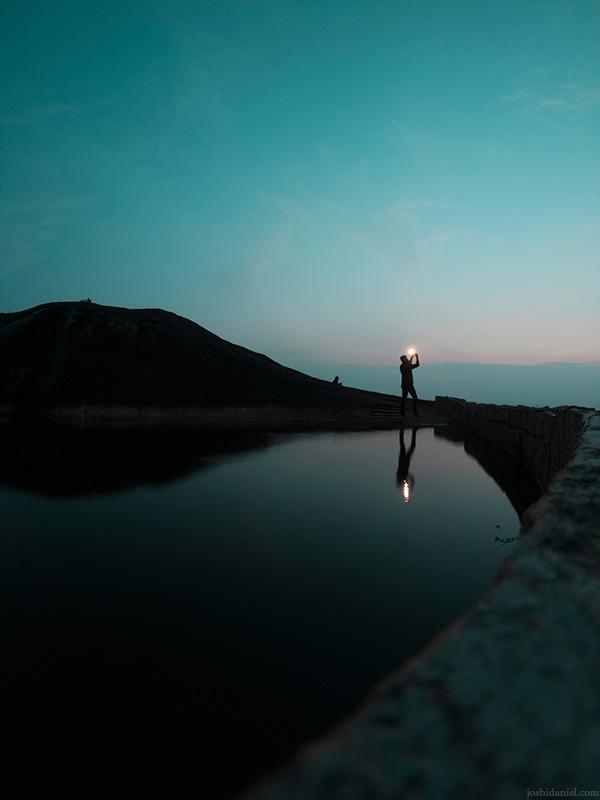 GoPro self-portrait of joshi daniel shooting at Chitharal, Kanyakumari, Tamil Nadu, India