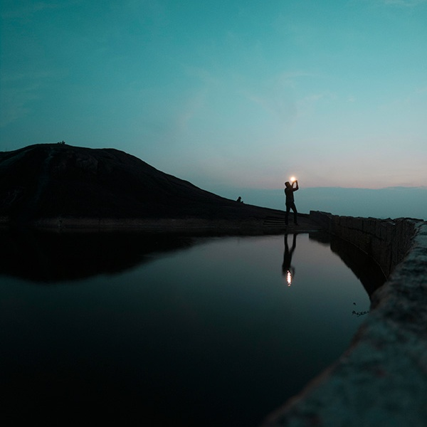 GoPro self-portrait of joshi daniel shooting at Chitharal, Kanyakumari, Tamil Nadu, India
